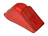 Rücklichtglas rot, Solex 1400-3800