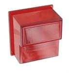 Rücklichtglas rot, Solex 5000