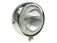 Lampe rund chrom, 13cm ohne Schalter, Sachs/Puch ect.