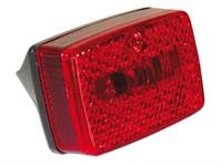 Rücklicht Replica schwarz/rot ULO