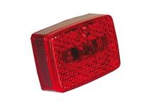 Rücklichtglas rot (ULO)