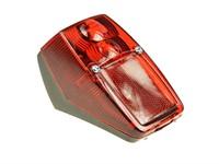 Rücklicht Peugeot 103, schwarz/rot (BAR10)