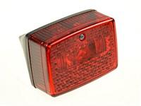 Rücklicht original schwarz/rot ULO (Reflektor)
