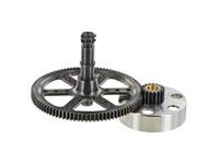 Getriebe MBR mit Kupplungskorb KTM SX50 Puch E50