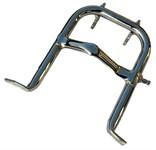 Ständer Puch Maxi S chrom, 24cm (lange Version)