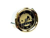 Tacho 60km/h - Ø 48mm, Zifferblatt Elfenbein / gold