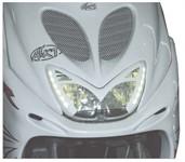 Scheinwerferblende LED Aerox/Nitro weiss
