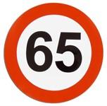 Aufkleber, 65km/h