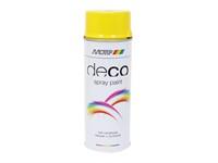 Spray de peinture voiture/moto RAL 5012 jaune colza 400ml