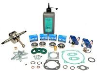 Kit de révision moteur complet, moteur des vélomoteurs Puch E50 (Maxi N et S)