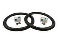 Set de pneus avec chambre à air, Fortune 2.00 x 19