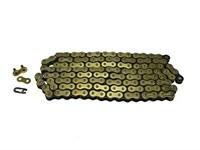 Antriebskette Mofa gold/schwarz (415H) 128L