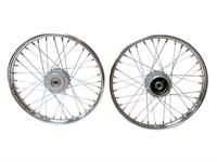 Speichenrad Set Vorder und Hinterrad 17 Puch