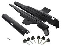 Kit caches latéraux noir , vélomoteurs Puch Maxi S