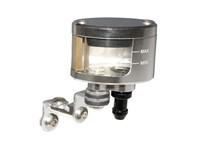 Réservoir/bocal de liquide de frein CNC, argenté