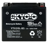Batterie YTX20L-BS Kyoto (voll)