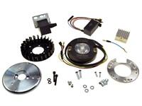 MVT Innenrotorzündung Sachs 502 116mm 12V mit Licht und Drehzahlbegrenzer SET