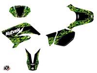 Stickerset / Dekor-Kit Predator schwarz/grün, Yamaha DT 50 2007-2011