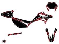 Sitckerset / Dekor-Kit Predator schwarz/rot, Beta RR 50 2012 bis 2016