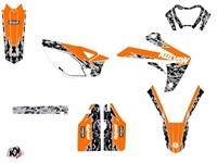Stickerset / Dekor-Kit Predator orange, Rieju 50 MRT ab 2010