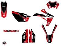 Dekor-Kit Predator schwarz/rot, Rieju MRT 50 ab 2010
