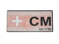 Aufkleber CM für Betriebserlaubnis