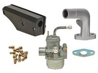 Kit carburation BING replica 15mm (pipe longue et filtre sport), Sachs 503 2AL / 2BL