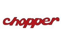 Aufkleber Chopper 81 x 16 mm (klein)