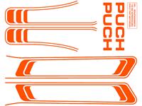 Abziehbild orange Puch Maxi (1A. Qualität)