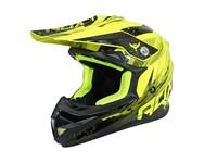 Cross Helm ADX gelb / schwarz Enduro Grösse M