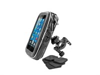 Handy / GPS Halter zur Befestigung am Lenker (Wasserfest)