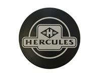 Emblème HERCULES Ø 48 noir (pour boucher le trou du compteur)