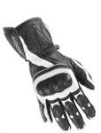 Handschuhe Büse PIT LANE schwarz/weiss Gr. 09