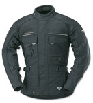 Jacke Motorrad Büse Ancona schwarz (Grösse XL)