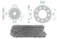 Kettenkit 14 x 53 / 420 ohne O-Ring (K1277) Stahl