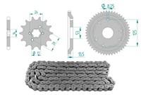 Kettenkit 13 x 53 / 420 ohne O-Ring (K1380) Stahl
