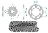 Kettenkit 15 x 53 / 420 ohne O-Ring (K4338) Stahl