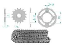 Kettenkit 13 x 50 / 420 ohne O-Ring (K4180) Stahl