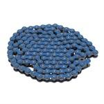 Kette 420 ohne O-Ring, 134 Glieder verstärkt, blau