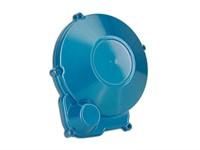 Abdeckung Zündung Minarelli AM6, Blau eloxiert