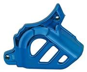Abdeckung Ritzel, Minarelli AM6, blau eloxiert