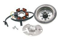 Allumage (rotor+stator) couronne 66 dents, moto 50cc Aprilia RS4 50, Derbi GPR/Senda DRD