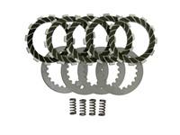 Kupplungsbeläge Kevlar, Derbi D50B0 und EBS050 (5 Stk.)