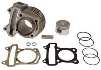 Cylinder kit Naraku Performance V.2 72cc, Ø=47mm, GY6, e.g. Rex RS450 4-stroke, 139 QMA / QMB