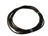 Zündkabel 5mm, 5m Rolle,  schwarz