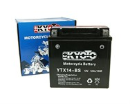 Batterie YTX14-BS Kyoto  L:145/B:83/H:146mm