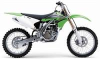 Verkleidungskit komplett grün Kawasaki KX250F 04-05