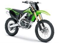 Verschalungskit grün Kawasaki KX250F 2009-2012
