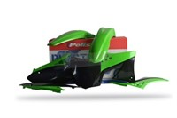 Verschalungskit grün Kawasaki KX450F 2012
