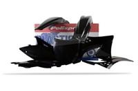 Verschalungskit schwarz Kawasaki KX450F 2012